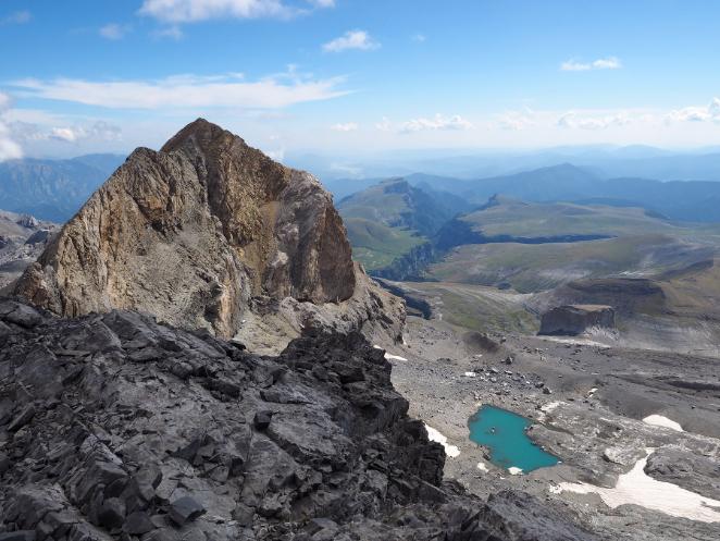 Photography of travel: Bivouac in Monte Perdido. Pyrenees