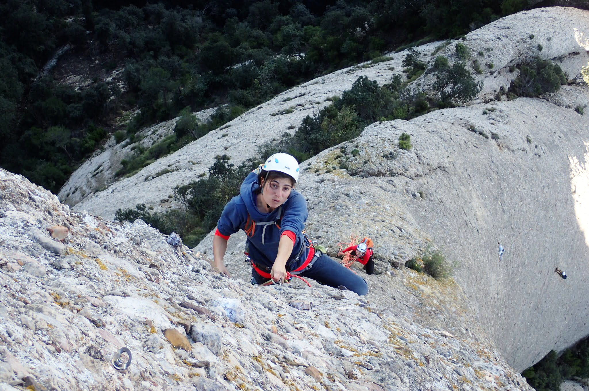 Photography of travel: Punsuola Route to Cavall Bernat. Montserrat, Barcelona